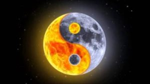 Full Moon Yin and Yang