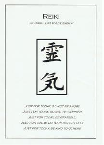 A – Reiki Principles