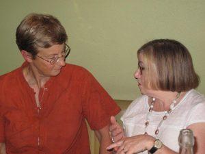 Gill listens at Reiki Geelong