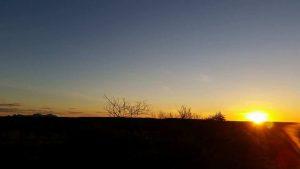 Sunrise at Coober Pedy