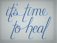 its time to heal