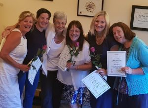 Gill with Reiki Students